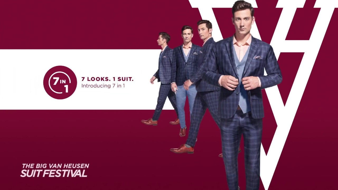 Van Heusen launches 7-in-1 suit collection for this festive season