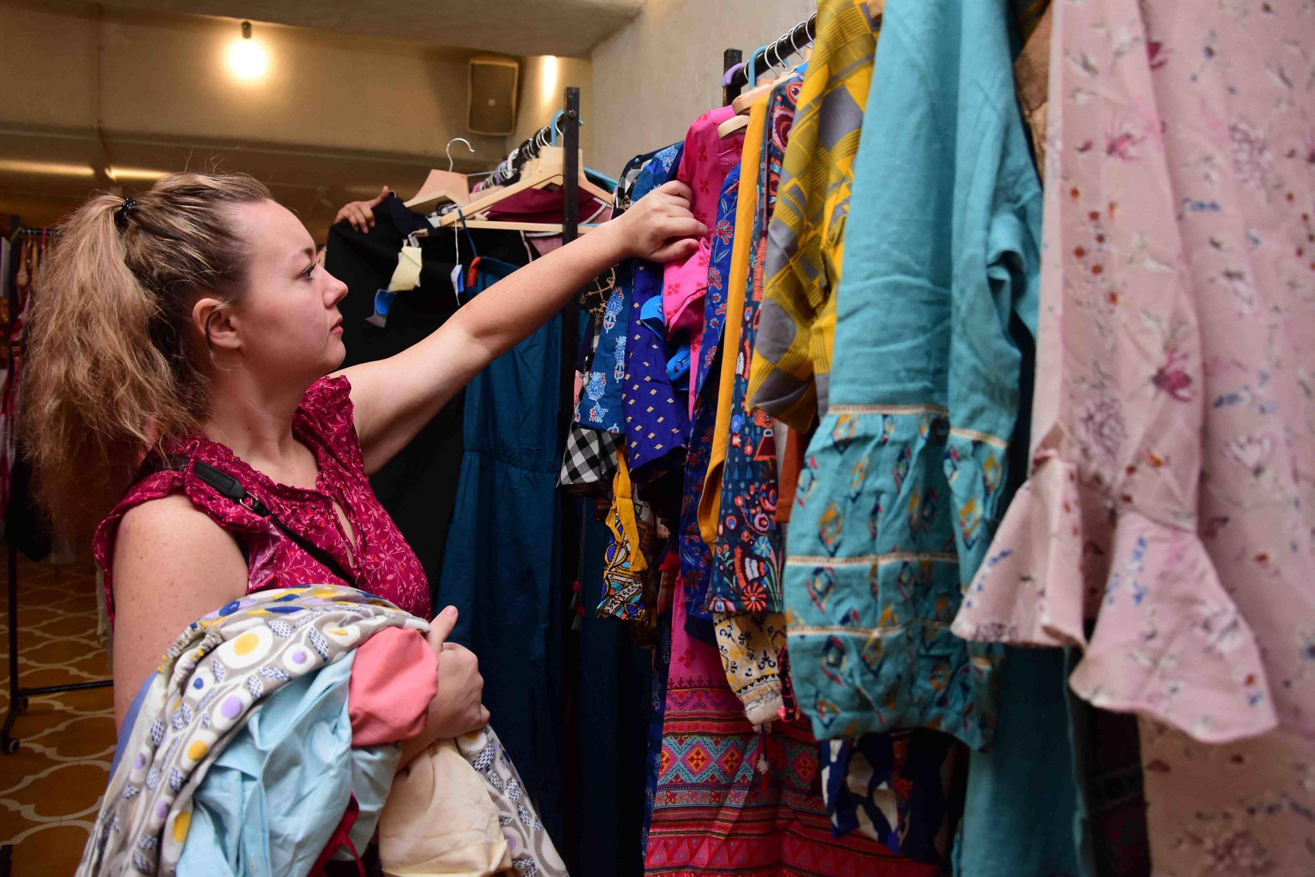 Evelyn Sharma's Seams for Dreams hosts sustainable Garage Sale to help the needy