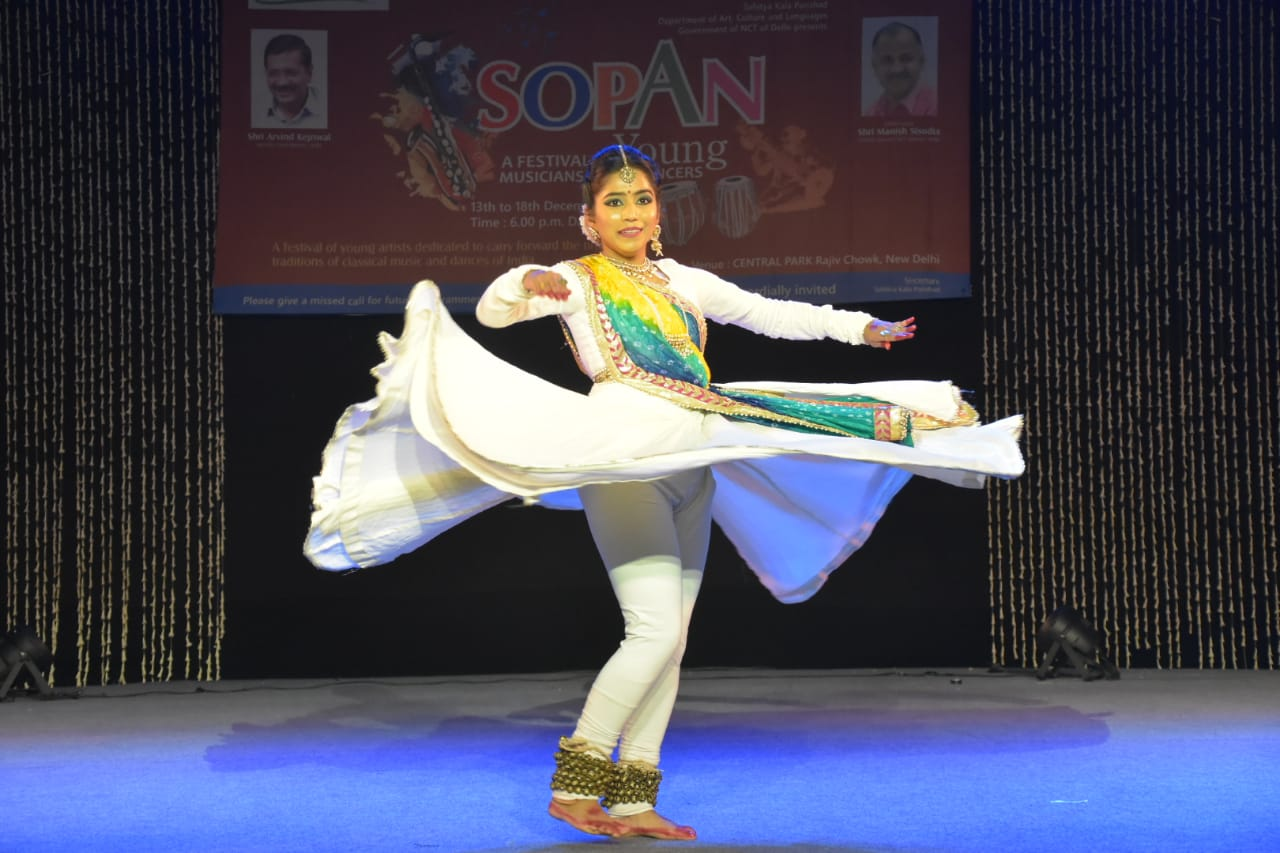 Sopan Festival: Government tries to create more opportunities for Young Artistes