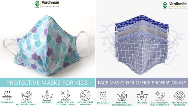Vardhman Group introduces special fabrics for face masks