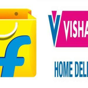Flipkart and Vishal Mega Mart join hands to deliver essentials across India
