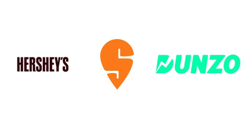 "Hershey India collaborates with Swiggy and Dunzo to launch ""Hershey's Happiness Store"""