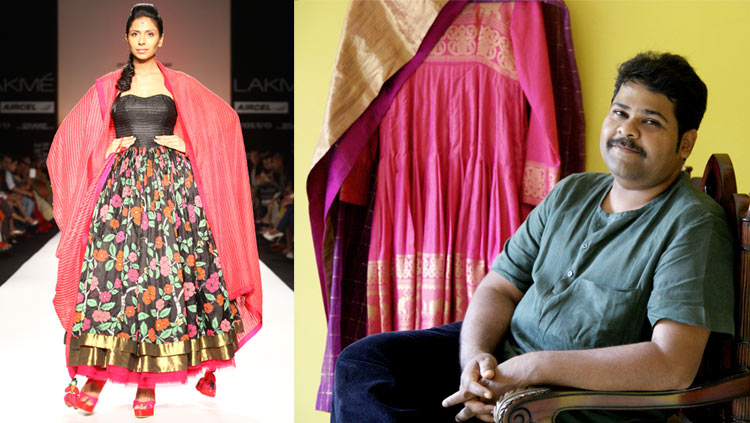 "Gaurang Shah introduces ""estore"" for his handwoven pieces"